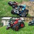 K2839 - Masina de Curse cu Senile din 391 Piese Lego